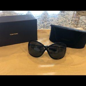 Black Tom Ford Whitney Sunglasses